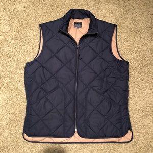 Navy J. Crew vest
